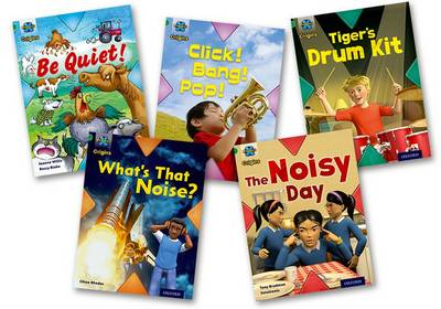 Project X Origins: Green Book Band, Oxford Level 5: Making Noise: Mixed Pack of 5 by Tony Bradman, Jan Burchett, Sara Vogler, Chloe Rhodes