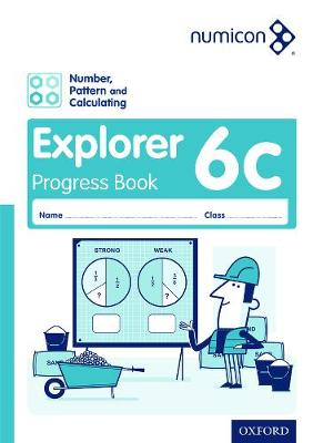 Numicon: Number, Pattern and Calculating 6 Explorer Progress Book C (Pack of 30) by Tony Wing, Jayne Campling, Adella Osborne