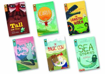 Oxford Reading Tree TreeTops Greatest Stories: Oxford Level 8-9: Mixed Pack by Jeanne Willis, Susan Gates, Malachy Doyle, Claire Llewellyn