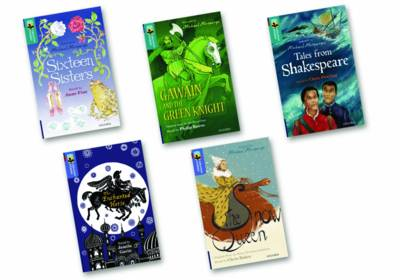 Oxford Reading Tree TreeTops Greatest Stories: Oxford Level 16-17: Mixed Pack by Anne Fine, Philip Reeve