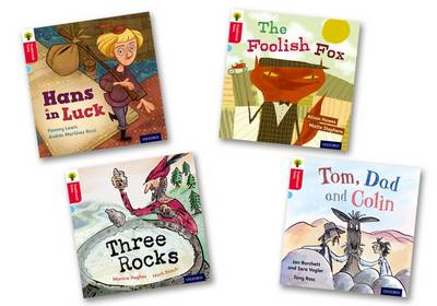 Oxford Reading Tree Traditional Tales: Level 4: Pack of 4 by Monica Hughes, Jan Burchett, Sara Vogler, Alison Hawes