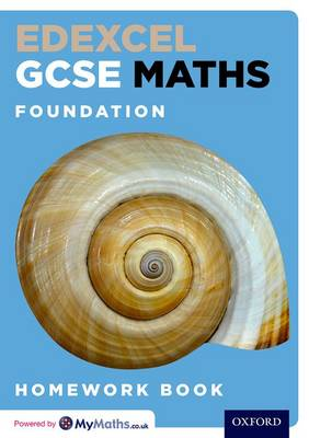 Edexcel GCSE Maths Foundation Homework Book by Clare Plass