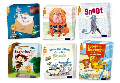 Oxford Reading Tree Story Sparks: Oxford Level 6: Mixed Pack of 6 by Robin Etherington, Teresa Heapy, Pippa Goodhart, Simon Puttock