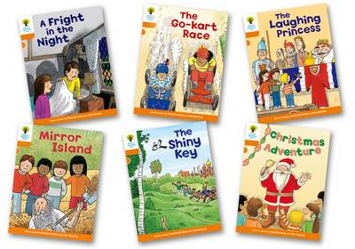 Oxford Reading Tree Biff Chip and Kipper Stories: Level 6 More Stories A: Pack of 6 by Roderick Hunt