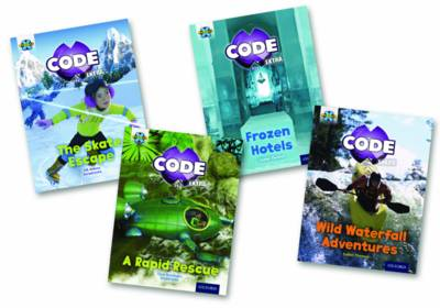 Project X CODE Extra: Orange Book Band, Oxford Level 6: Fiendish Falls and Big Freeze, Mixed Pack of 4 by Jill Atkins, Tony Bradman, Isabel Thomas