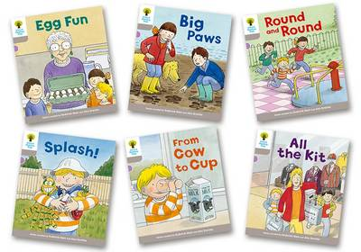 Oxford Reading Tree Biff, Chip and Kipper Stories Decode and Develop: Level 1: Level 1 More B Decode & Develop Pack of 6 by Roderick Hunt