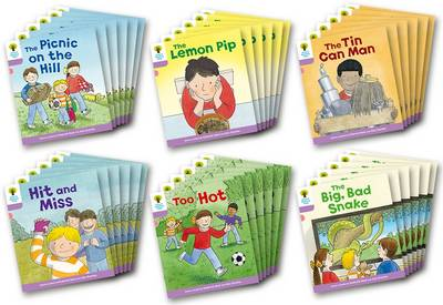 Oxford Reading Tree Biff, Chip and Kipper Stories Decode and Develop: Level 1+: Level 1+ More B Decode and Develop Class Pack of 36 by Roderick Hunt, Paul Shipton