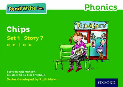 Read Write Inc. Phonics: Green Set 1 Storybook 7 Chips by Gill Munton