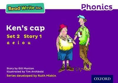 Read Write Inc. Phonics: Purple Set 2 Storybook 1 Ken's Cap by Gill Munton