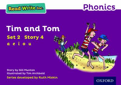 Read Write Inc. Phonics: Purple Set 2 Storybook 4 Tim and Tom by Gill Munton