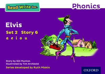 Read Write Inc. Phonics: Purple Set 2 Storybook 6 Elvis by Gill Munton