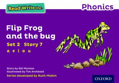 Read Write Inc. Phonics: Purple Set 2 Storybook 7 Flip Frog and the Bug by Gill Munton