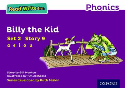 Read Write Inc. Phonics: Purple Set 2 Storybook 9 Billy the Kid by Gill Munton