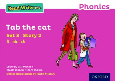 Read Write Inc. Phonics: Pink Set 3 Storybook 2 Tab the Cat by Gill Munton