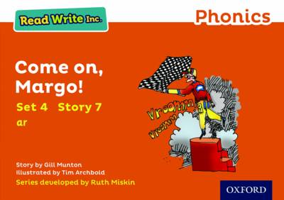 Read Write Inc. Phonics: Orange Set 4 Storybook 7 Come On, Margo! by Gill Munton
