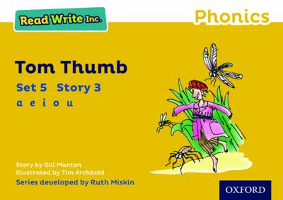 Read Write Inc. Phonics: Yellow Set 5 Storybook 3 Tom Thumb by Gill Munton