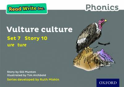 Read Write Inc. Phonics: Grey Set 7 Storybook 10 Vulture Culture by Gill Munton