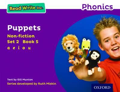 Read Write Inc. Phonics: Purple Set 2 Non-fiction 5 Puppets by Gill Munton