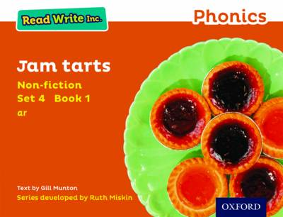 Read Write Inc. Phonics: Orange Set 4 Non-fiction 1 Jam Tarts by Gill Munton