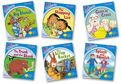 Oxford Reading Tree Songbirds Phonics: Level 3: Mixed Pack of 6 by Julia Donaldson