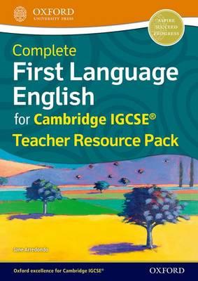 Complete First Language English for Cambridge IGCSE (R) Teacher Resource Pack by Tara Garner, Jane Arredondo