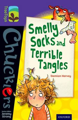 Oxford Reading Tree TreeTops Chucklers: Level 11: Smelly Socks and Terrible Tangles by Damian Harvey