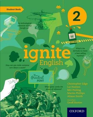Ignite English: Student Book 2 by Christopher Edge, Liz Hanton, Mel Peeling, Martin Phillips