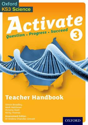 Activate 3: Teacher Handbook by Simon Broadley, Mark Matthews, Victoria Stutt