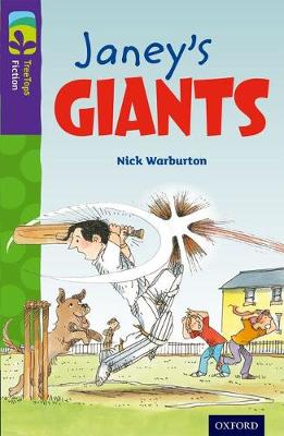 Oxford Reading Tree TreeTops Fiction: Level 11 More Pack A: Janey's Giants by Nick Warburton
