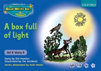 Read Write Inc. Phonics: Blue Set 6 Storybooks: A Box Full of Light by Gill Munton