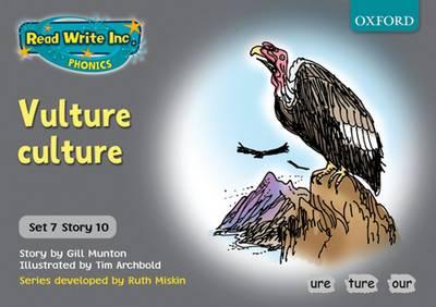 Read Write Inc. Phonics: Grey Set 7 Storybooks: Vulture Culture by Gill Munton
