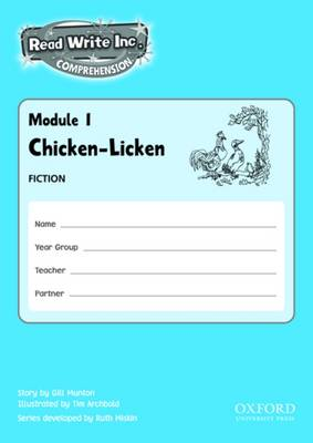 Read Write Inc. Comprehension: Modules 1-5: Pack of 5 by Caroline Brittain, Gill Munton