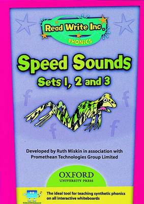 Read Write Inc. Phonics: Speed Sounds CD-ROM by Ruth Miskin