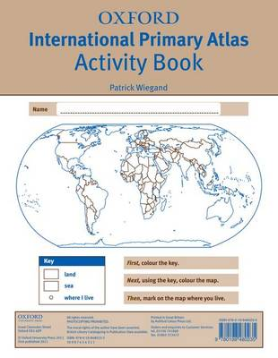 Oxford International Primary Atlas Activity Book by Patrick Wiegand