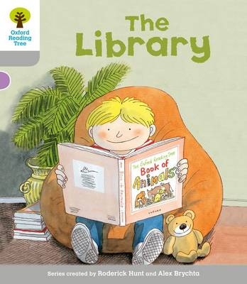 Oxford Reading Tree: Level 1: Wordless Stories A: Library by Roderick Hunt, Thelma Page