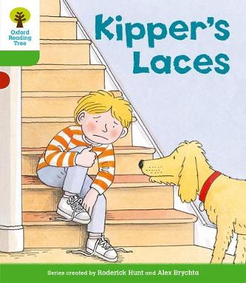 Oxford Reading Tree: Level 2: More Stories B: Kipper's Laces by Roderick Hunt
