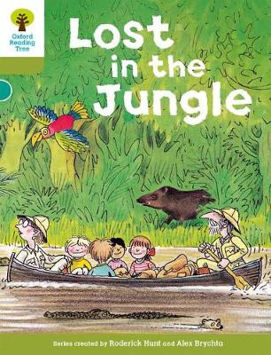 Oxford Reading Tree: Level 7: Stories: Lost in the Jungle by Roderick Hunt