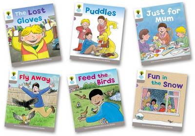 Oxford Reading Tree: Level 1: Decode and Develop: Pack of 6 by Roderick Hunt, Ms Annemarie Young, Thelma Page