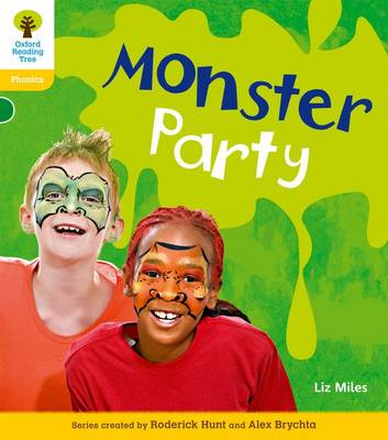 Oxford Reading Tree: Level 5: Floppy's Phonics Non-Fiction: Monster Party by Liz Miles, Monica Hughes, Thelma Page, Roderick Hunt