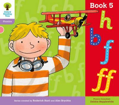 Oxford Reading Tree: Level 1+: Floppy's Phonics: Sounds and Letters: Book 5 by Roderick Hunt, Debbie Hepplewhite
