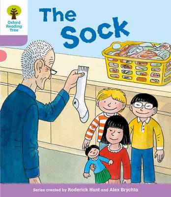 Oxford Reading Tree: Level 1+ More a Decode and Develop The Sock by Roderick Hunt, Paul Shipton