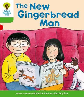 Oxford Reading Tree: Level 2 More a Decode and Develop the New Gingerbread Man by Paul Shipton, Roderick Hunt