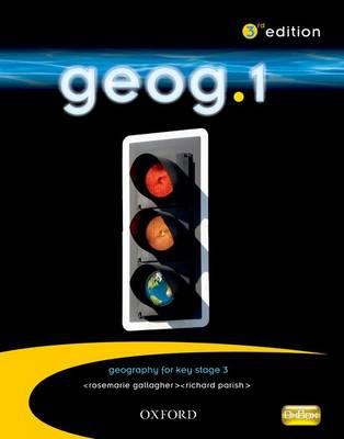 geog.1: students' book by RoseMarie Gallagher, Richard Parish, Janet Williamson