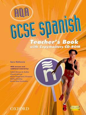 AQA GCSE Spanish Teacher's Book and Copymasters CD-ROM by Isabel Alonso de Sudea