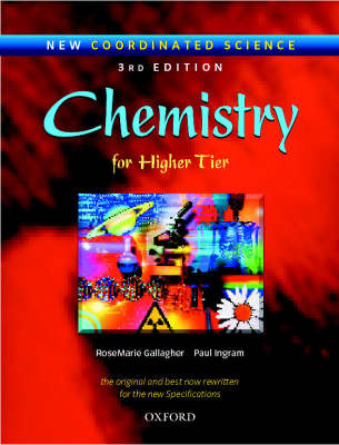 New Coordinated Science: Chemistry Students' Book For Higher Tier by RoseMarie Gallagher, Paul Ingram