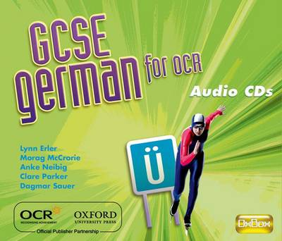 GCSE German for OCR Audio CDs by Morag McCrorie