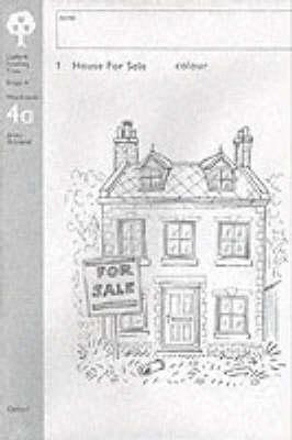 Oxford Reading Tree: Level 4: Workbooks: Pack 4A (6 workbooks) by Jenny Ackland