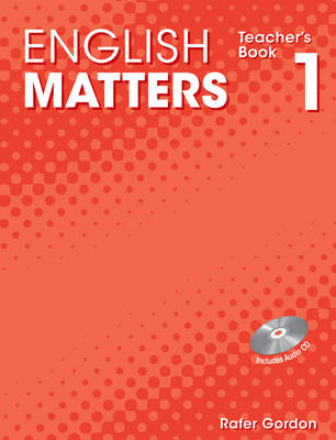 English Matters (Caribbean) Level 1 Teacher's Book and CD Pack by Julia Sander