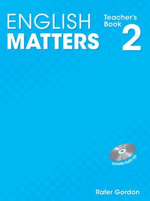 English Matters (Caribbean) Level 2 Teacher's Book & CD Pack by Julia Sander