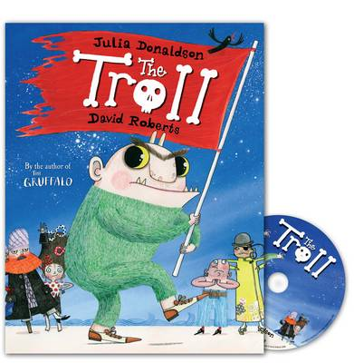 The Troll Book and CD Pack by Julia Donaldson